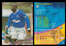 Everton Kevin Campbell A7